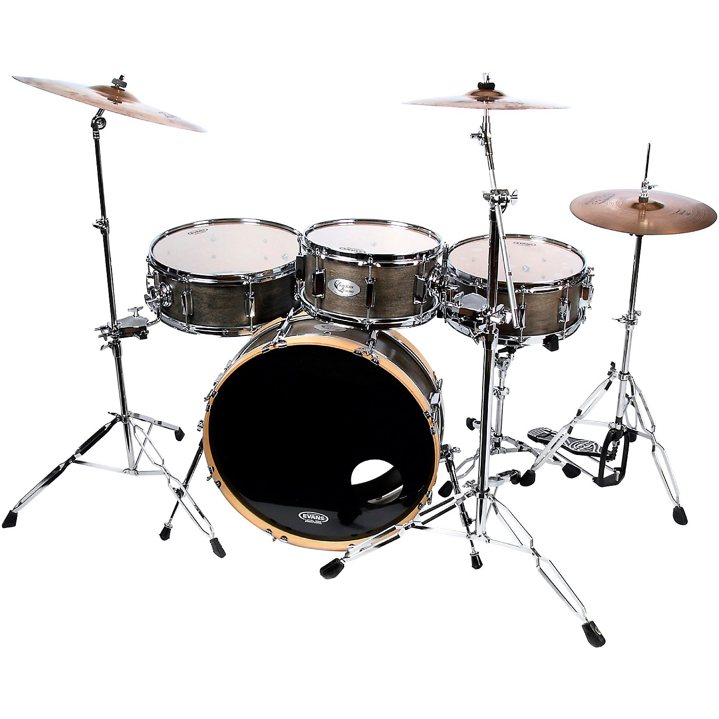 SideKick Drums Skinny Drum Set 4-Piece Shell Pack thumbnail