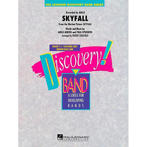 Hal Leonard Skyfall  - Discovery Concert Band Level 1 thumbnail