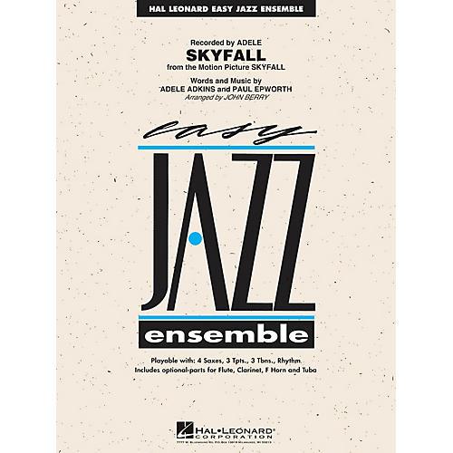 Hal Leonard Skyfall Jazz Band Level 2 by Adele Arranged by John Berry thumbnail