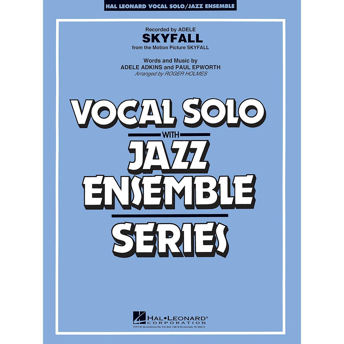 Hal Leonard Skyfall (Key: Cmi) Jazz Band Level 3-4 by Adele Arranged by Roger Holmes thumbnail