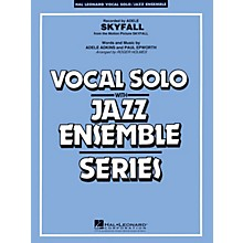 Hal Leonard Skyfall (Key: Cmi) Jazz Band Level 3-4 by Adele Arranged by Roger Holmes