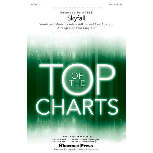 Shawnee Press Skyfall SAB by Adele arranged by Paul Langford thumbnail