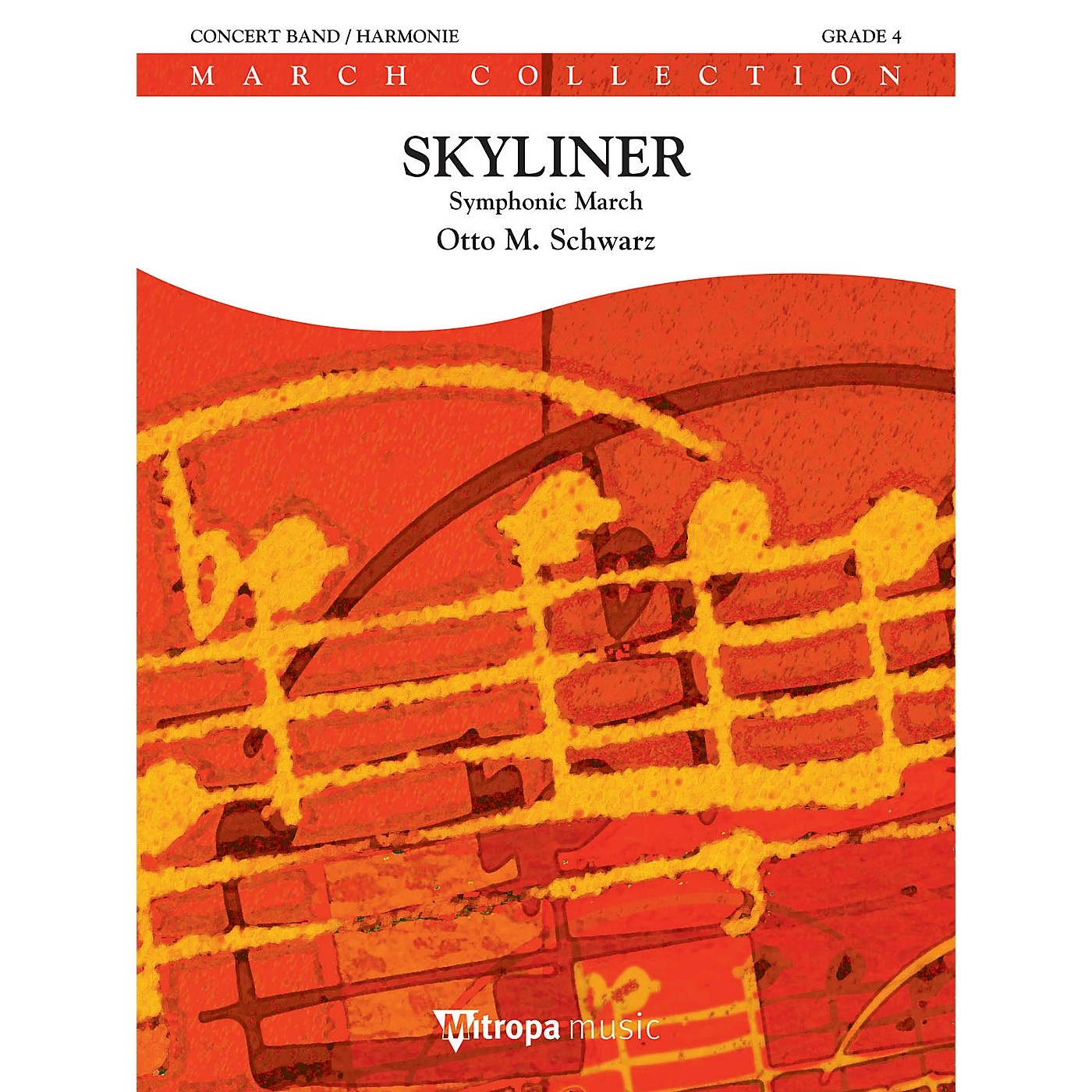 De Haske Music Skyliner (Symphonic March) Concert Band Level 2.5 Composed by Otto M. Schwarz thumbnail