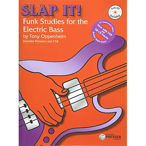 Theodore Presser Slap It! Funk Studies for the Electric Bass (Book/CD) thumbnail