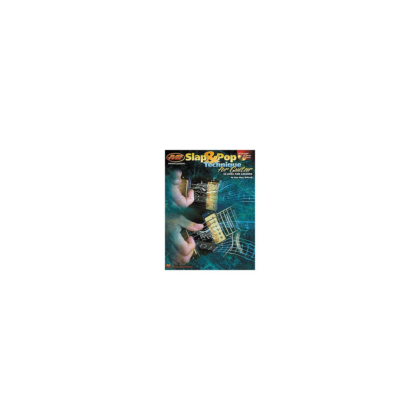 Hal Leonard Slap and Pop Technique for Guitar Book/CD thumbnail