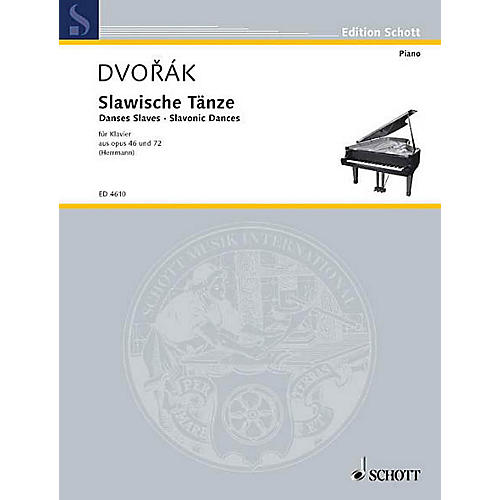 Schott Slavonic Dances, Op. 46 and 72 Schott Series thumbnail