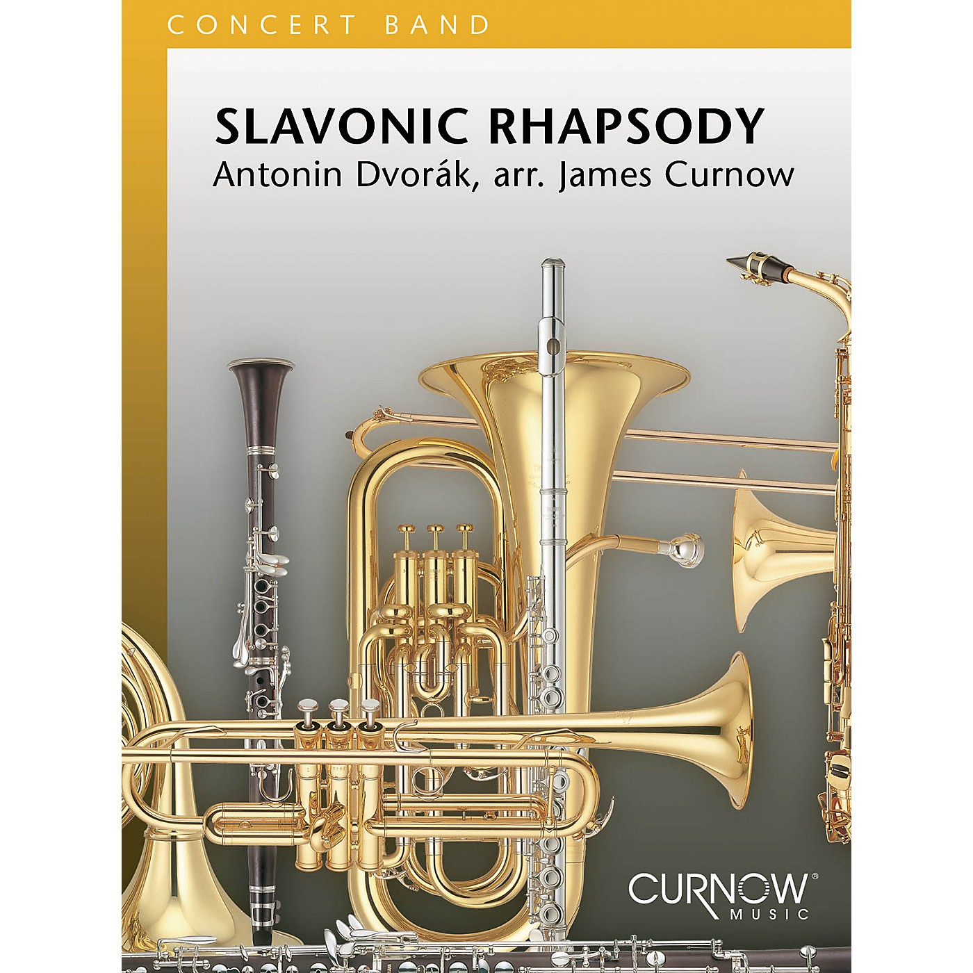 Curnow Music Slavonic Rhapsody (Grade 3 - Score and Parts) Concert Band Level 3 Arranged by James Curnow thumbnail