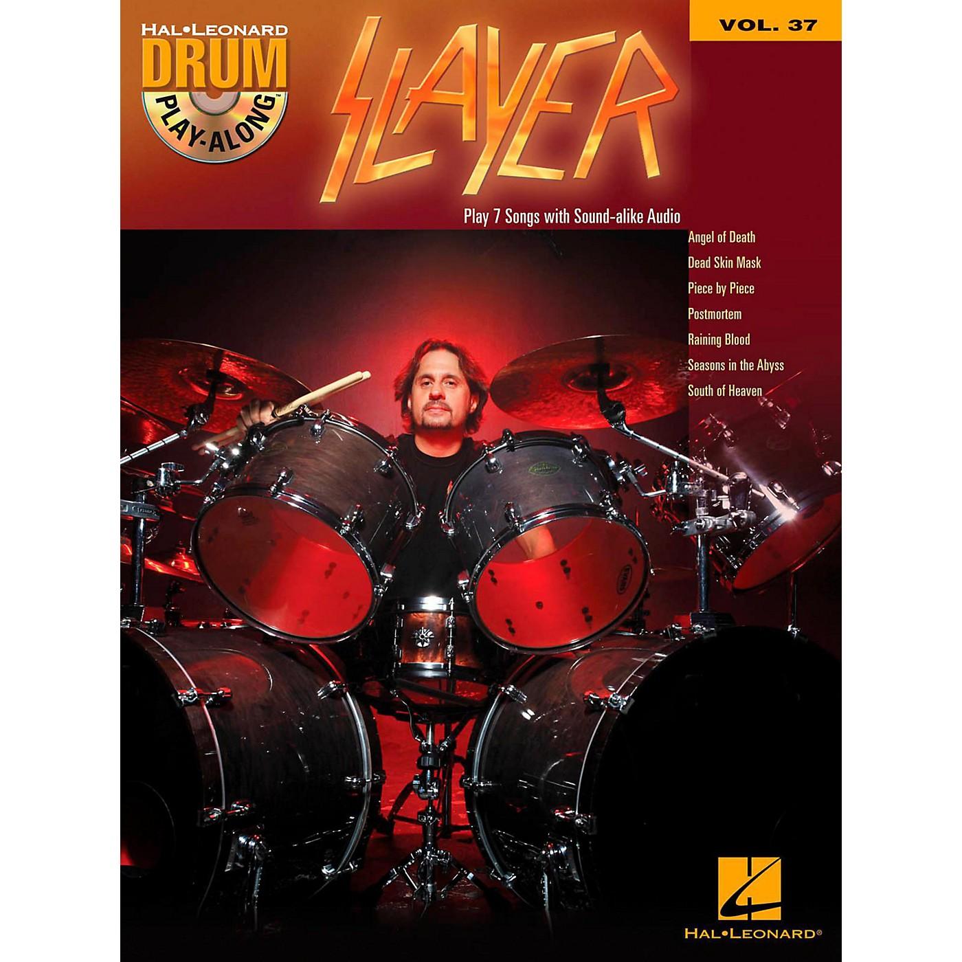 Hal Leonard Slayer - Drum Play-Along Volume 37 (Book/CD) thumbnail
