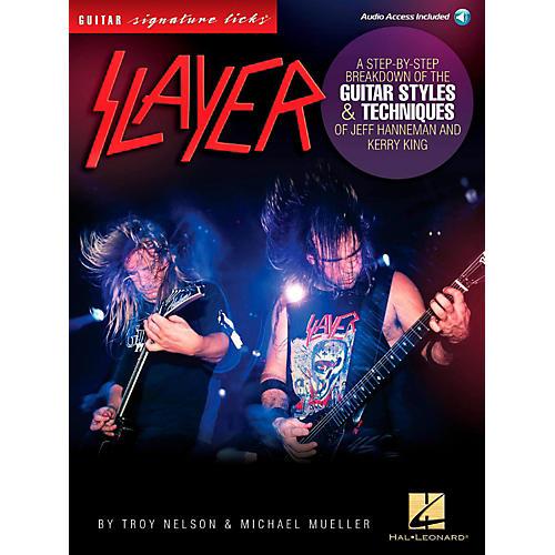 Hal Leonard Slayer Guitar Signature Licks - Styles & Techniques of Jeff Hanneman and Kerry King Book/Audio Online thumbnail