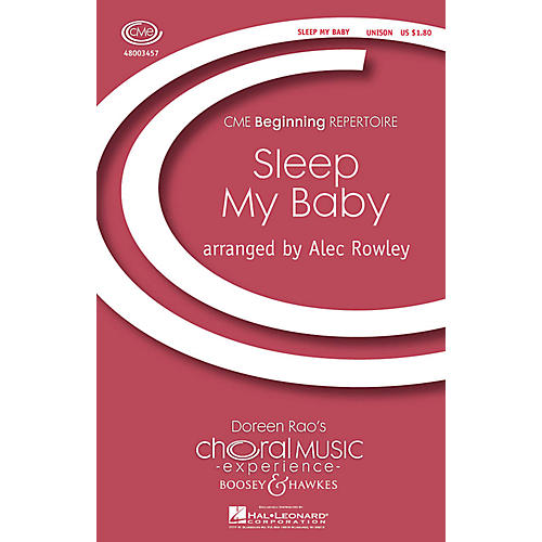 Boosey and Hawkes Sleep My Baby (CME Beginning) UNIS arranged by Alec Rowley thumbnail