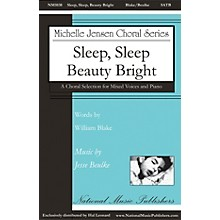 National Music Publishers Sleep, Sleep, Beauty Bright SATB composed by Jesse Beulke
