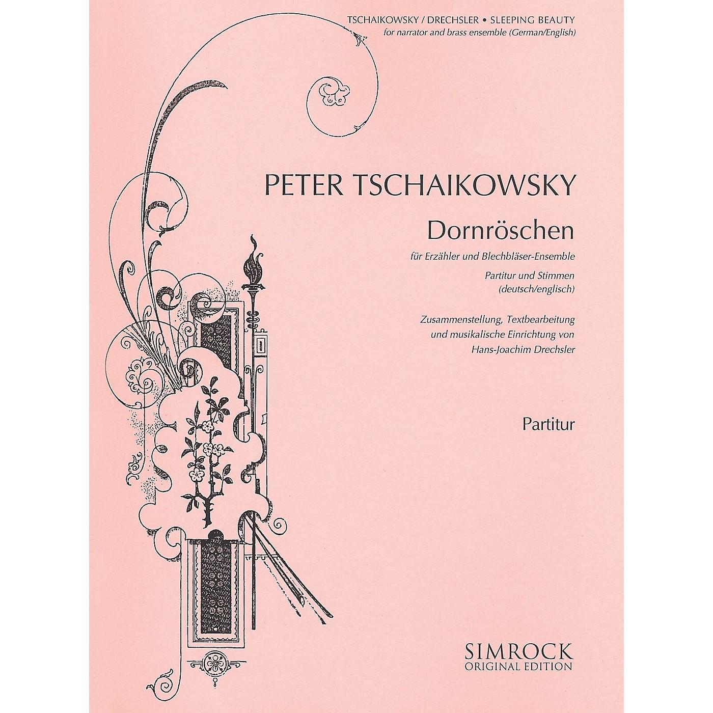 Simrock Sleeping Beauty (Dornröschen) Boosey & Hawkes by Tchaikovsky Arranged by Hans-Joachim Drechsler thumbnail