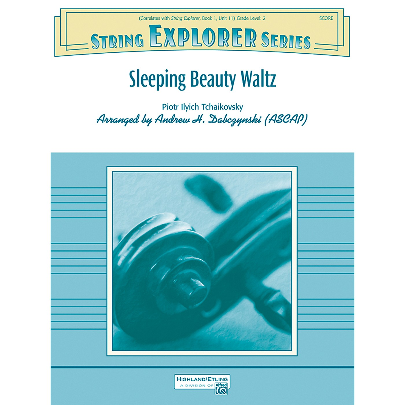 Alfred Sleeping Beauty Waltz String Orchestra Grade 2 Set thumbnail