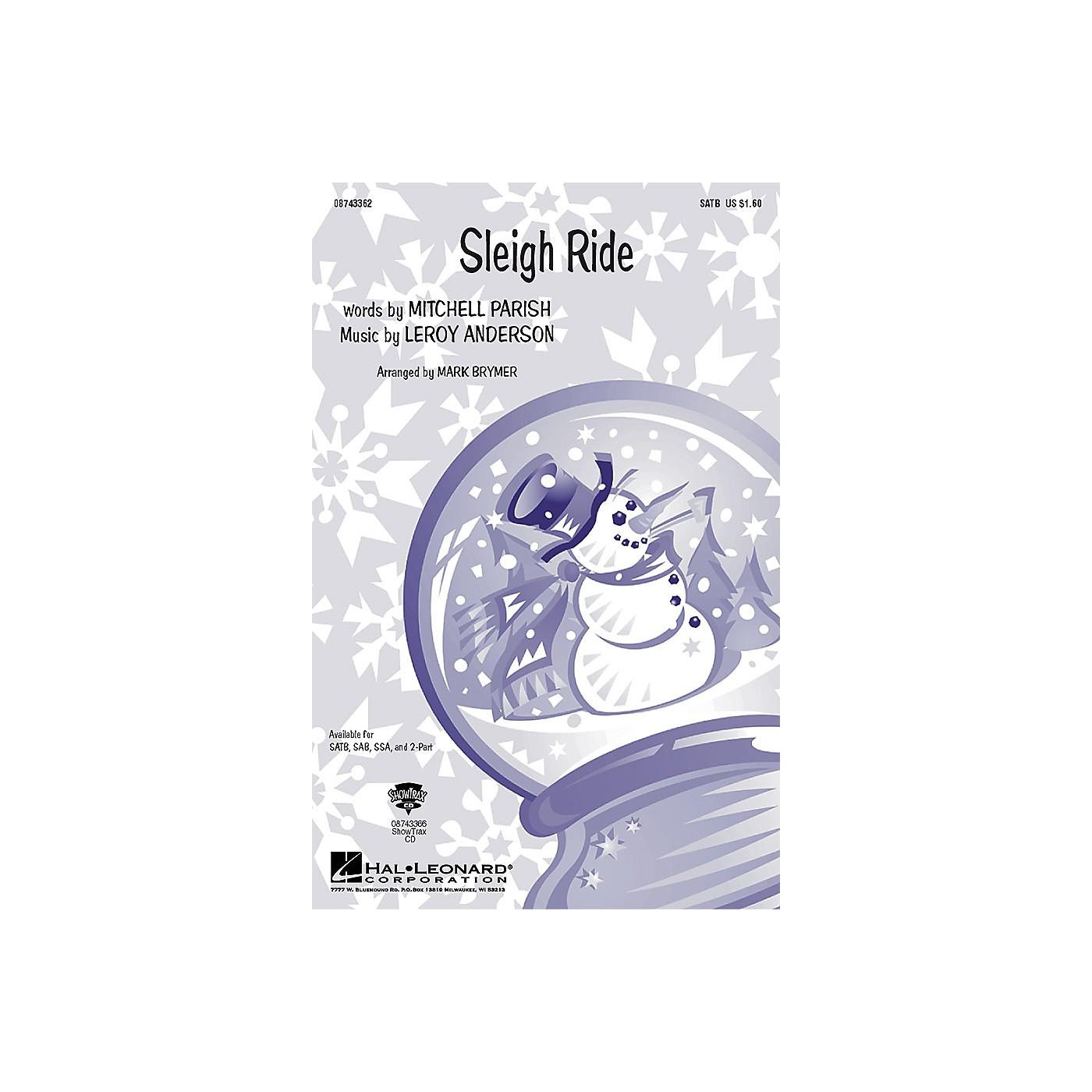 Hal Leonard Sleigh Ride IPAKO Arranged by Mark Brymer thumbnail