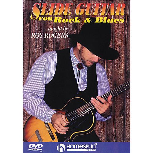 Homespun Slide Guitar for Rock and Blues (DVD) thumbnail