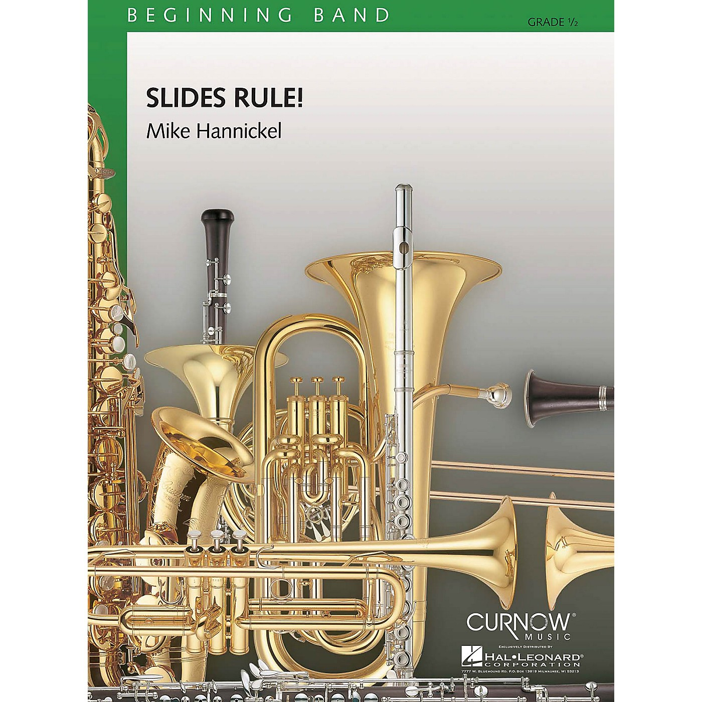 Curnow Music Slides Rule! (Grade 0.5 - Score and Parts) Concert Band Level .5 Composed by Mike Hannickel thumbnail