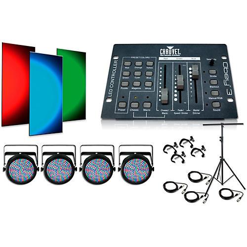CHAUVET DJ Slim Par 64 4 Light System thumbnail