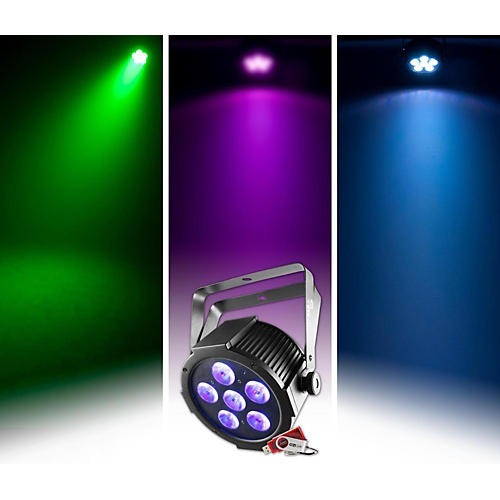 CHAUVET DJ SlimPAR H6 USB Par-Style LED Wash/Black Light thumbnail