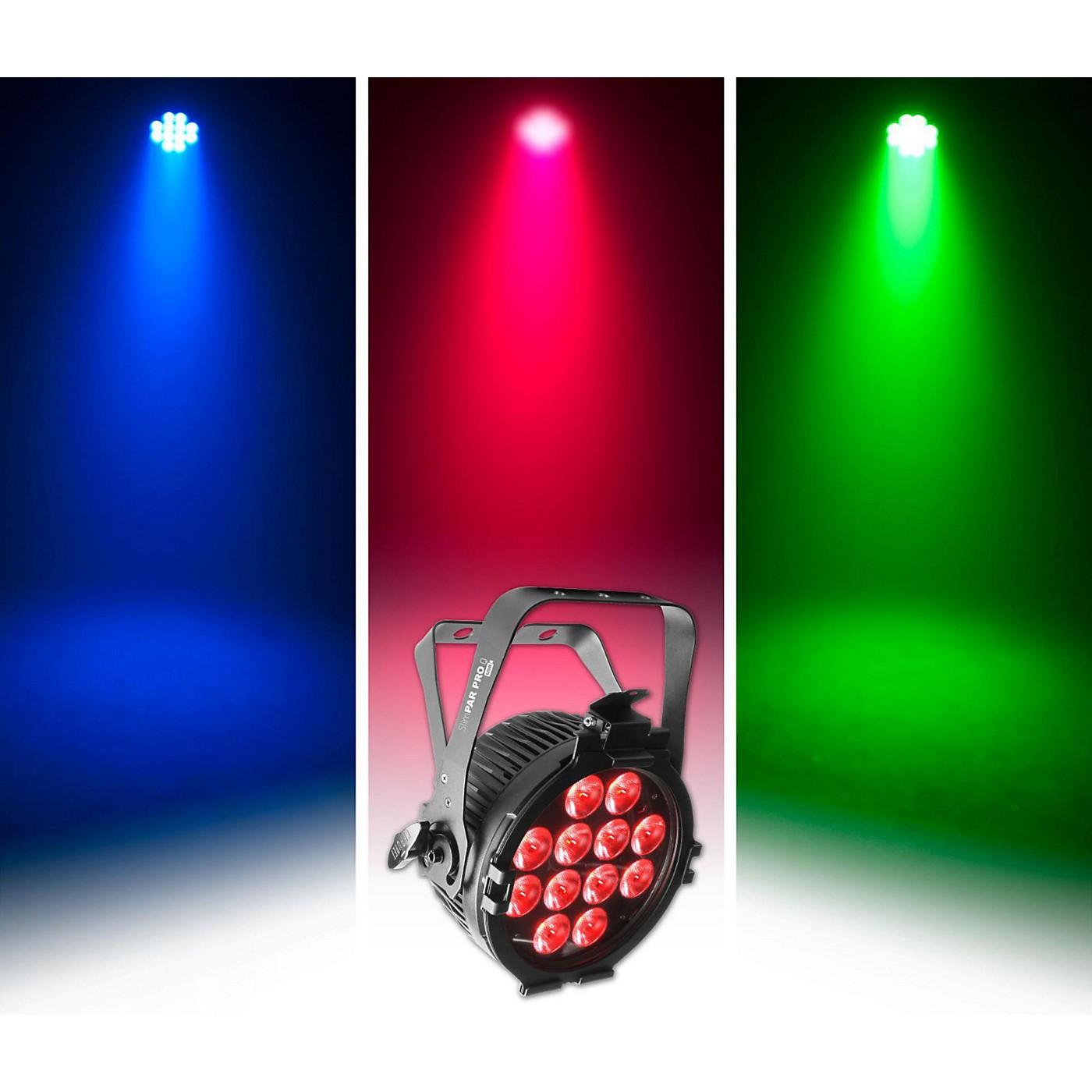 CHAUVET DJ SlimPAR Pro Q USB Quad Color LED Wash Light thumbnail