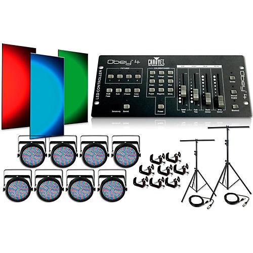 CHAUVET DJ SlimPar64 8 Light System thumbnail