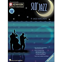 Hal Leonard Slo' Jazz Jazz Play-Along Volume 106 Book/CD
