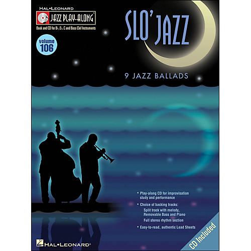 Hal Leonard Slo' Jazz Jazz Play-Along Volume 106 Book/CD thumbnail