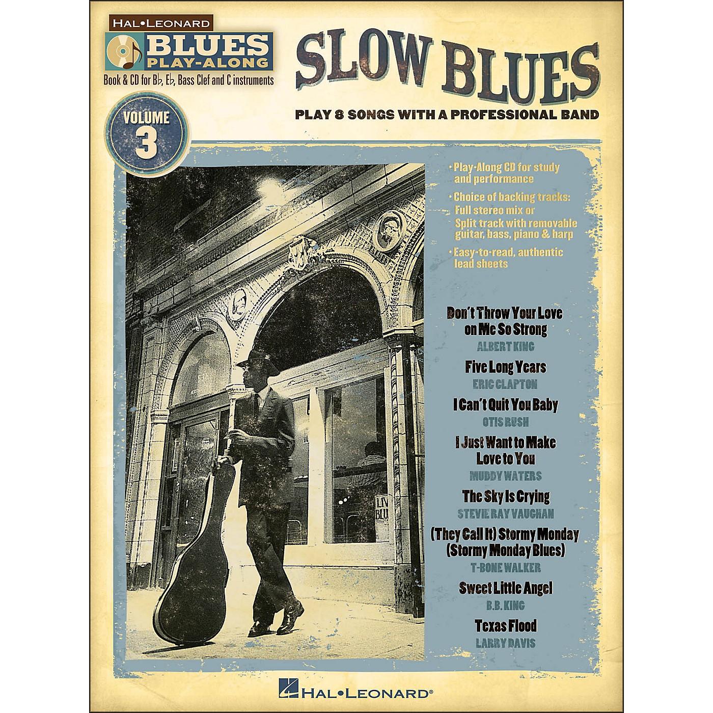 Hal Leonard Slow Blues - Blues Play-Along Volume 3 (Book/CD) thumbnail