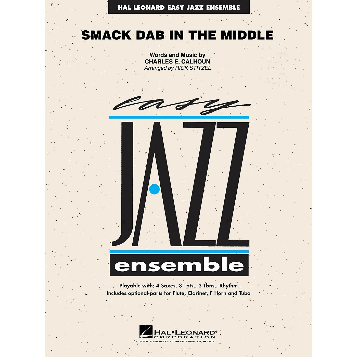 Hal Leonard Smack Dab in the Middle Jazz Band Level 2 Arranged by Rick Stitzel thumbnail