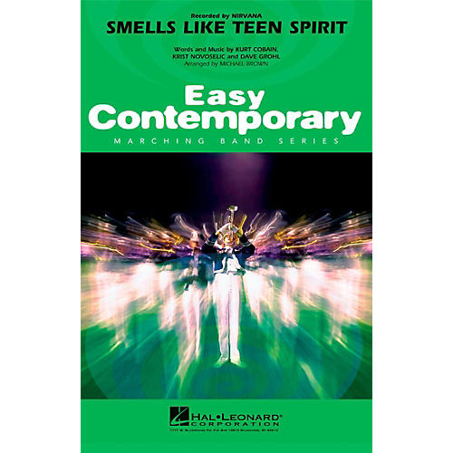 Hal Leonard Smells Like Teen Spirit - Easy Pep Band/Marching Band Level 2 thumbnail