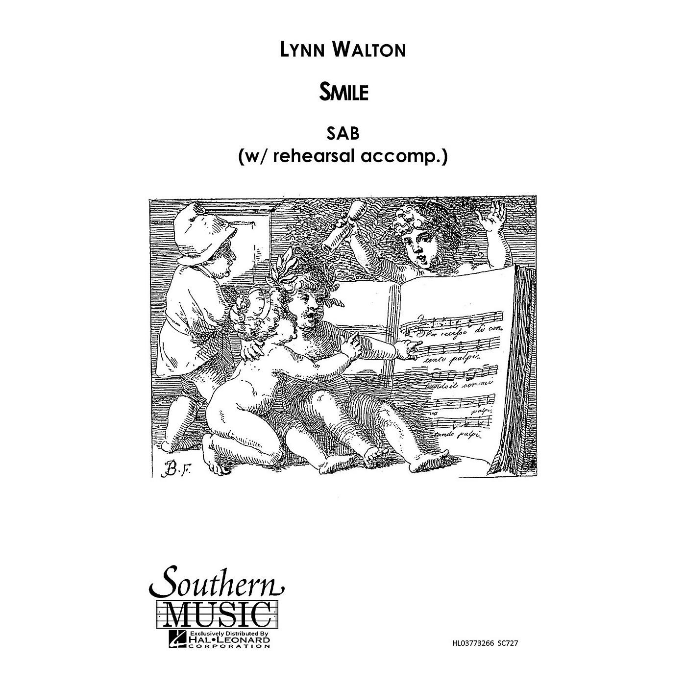 Hal Leonard Smile (Choral Music/Octavo Secular Sab) SAB Composed by Walton, Lynn thumbnail