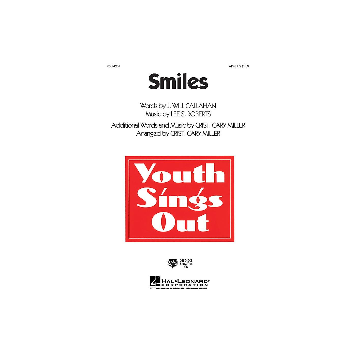 Hal Leonard Smiles ShowTrax CD Arranged by Cristi Cary Miller thumbnail