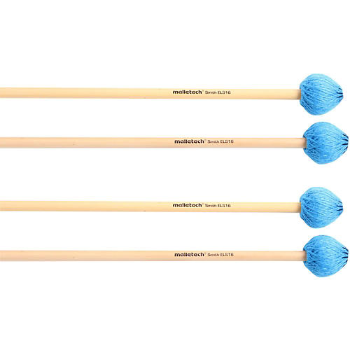 Malletech Smith Vibraphone Mallets Set of 4 (2 Matched Pairs) thumbnail