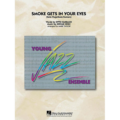 Hal Leonard Smoke Gets in Your Eyes Jazz Band Level 3 Arranged by Mark Taylor thumbnail