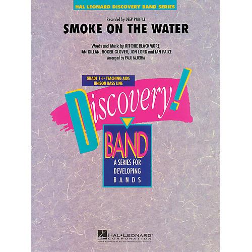 Hal Leonard Smoke on the Water Concert Band Level 1.5 Arranged by Paul Murtha thumbnail