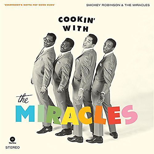 Alliance Smokey Robinson & the Miracles - Cookin With + 4 Bonus Tracks thumbnail