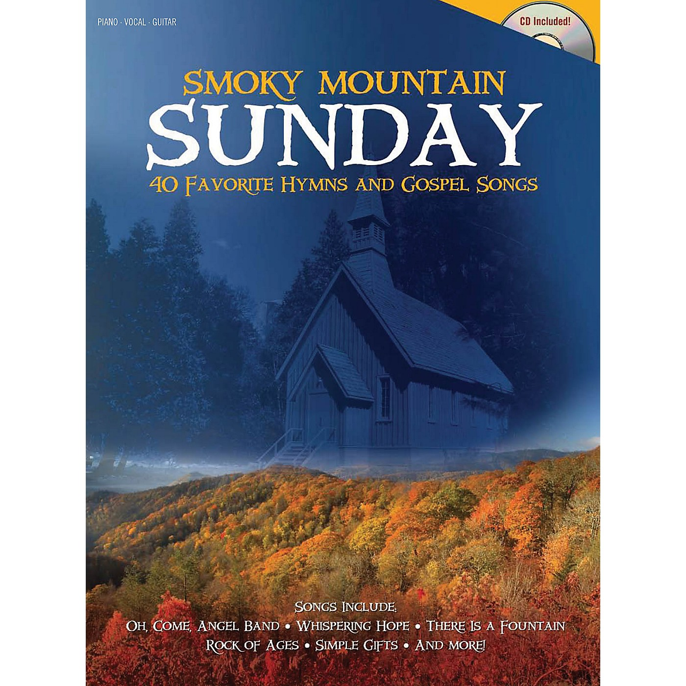 Shawnee Press Smoky Mountain Sunday (40 Favorite Hymns and Gospel Songs) Composed by Various thumbnail