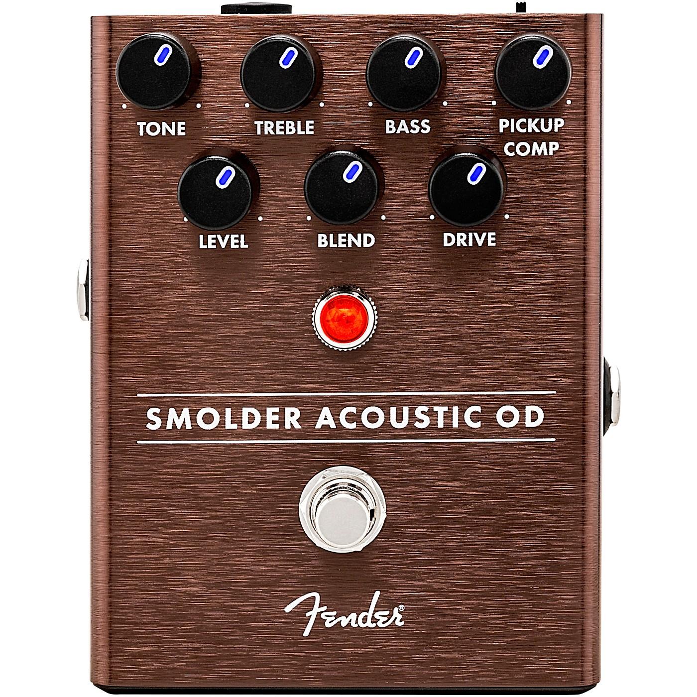 Fender Smolder Acoustic Overdrive Effects Pedal thumbnail