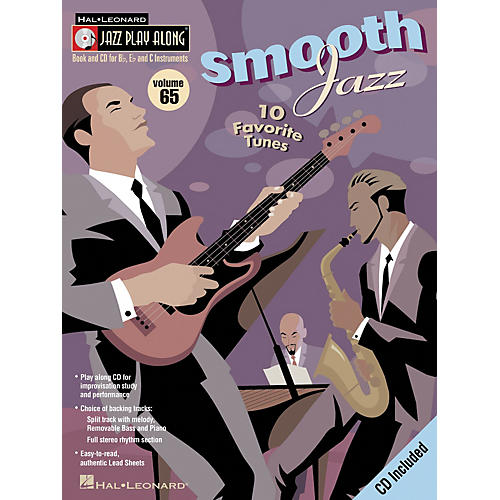 Hal Leonard Smooth Jazz - Jazz Play Along Volume 65 Book CD thumbnail