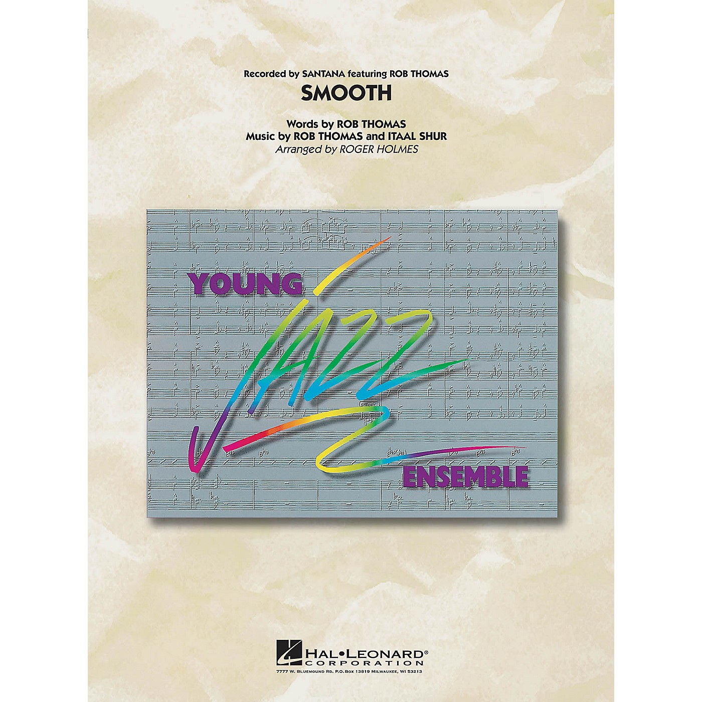 Hal Leonard Smooth Jazz Band Level 3 Arranged by Roger Holmes thumbnail