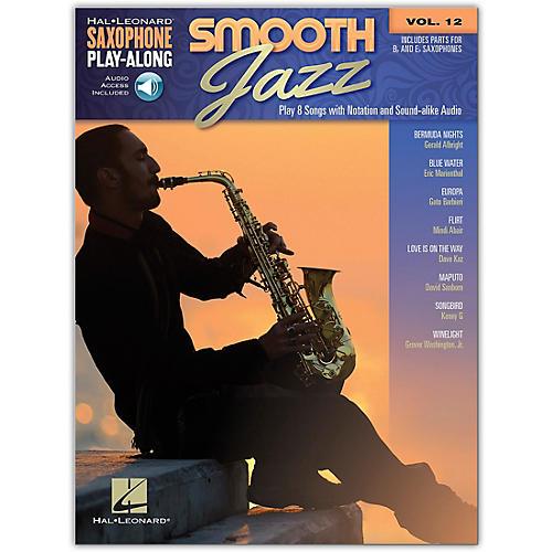 Hal Leonard Smooth Jazz Saxophone Play-Along Volume 12 Book/Audio Online thumbnail
