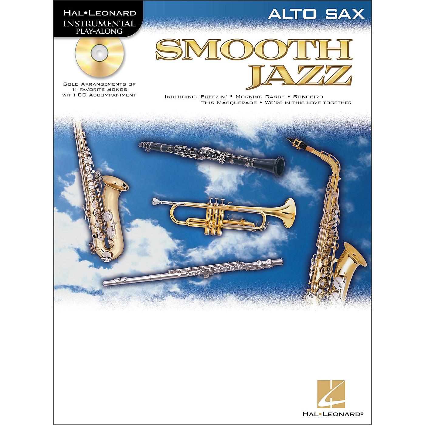 Hal Leonard Smooth Jazz for Alto Sax Book/CD thumbnail