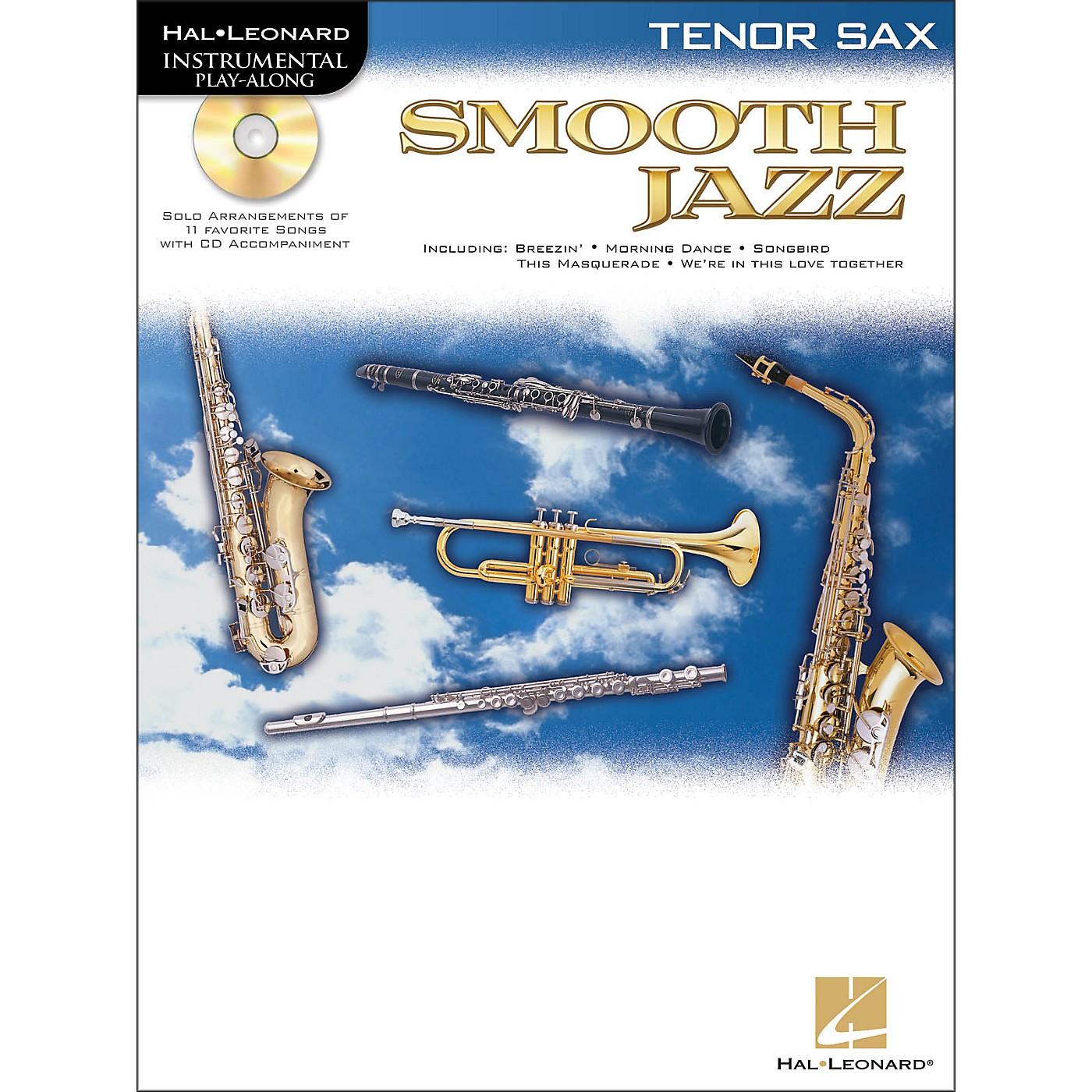 Hal Leonard Smooth Jazz for Tenor Sax Book/CD thumbnail