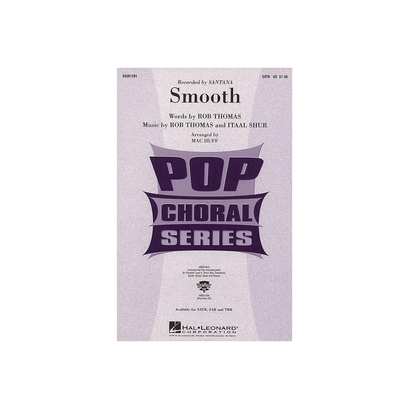 Hal Leonard Smooth SATB by Santana arranged by Mac Huff thumbnail