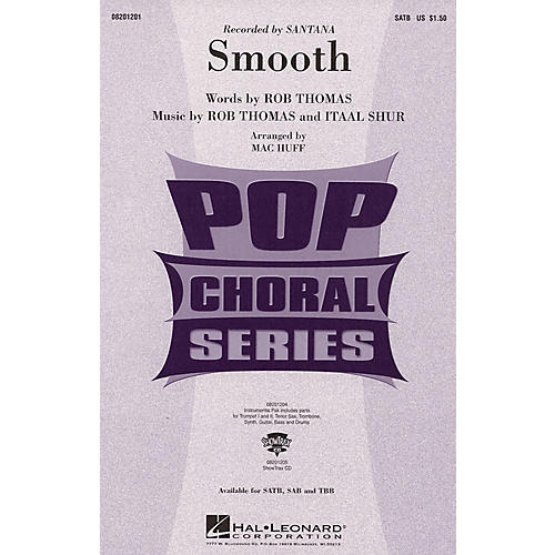 Hal Leonard Smooth ShowTrax CD by Santana Arranged by Mac Huff thumbnail