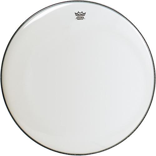 Remo Smooth White Ambassador Bass Drumhead thumbnail