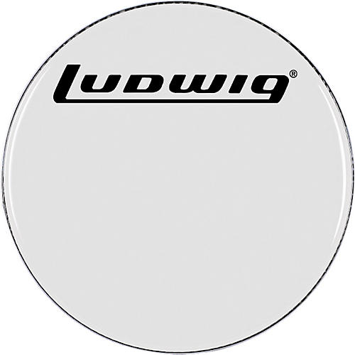 Ludwig Smooth White Bass Drum Head-thumbnail