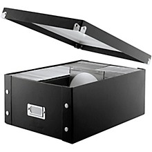 Vaultz Snap-N-Store CD Doublewide Storage Box