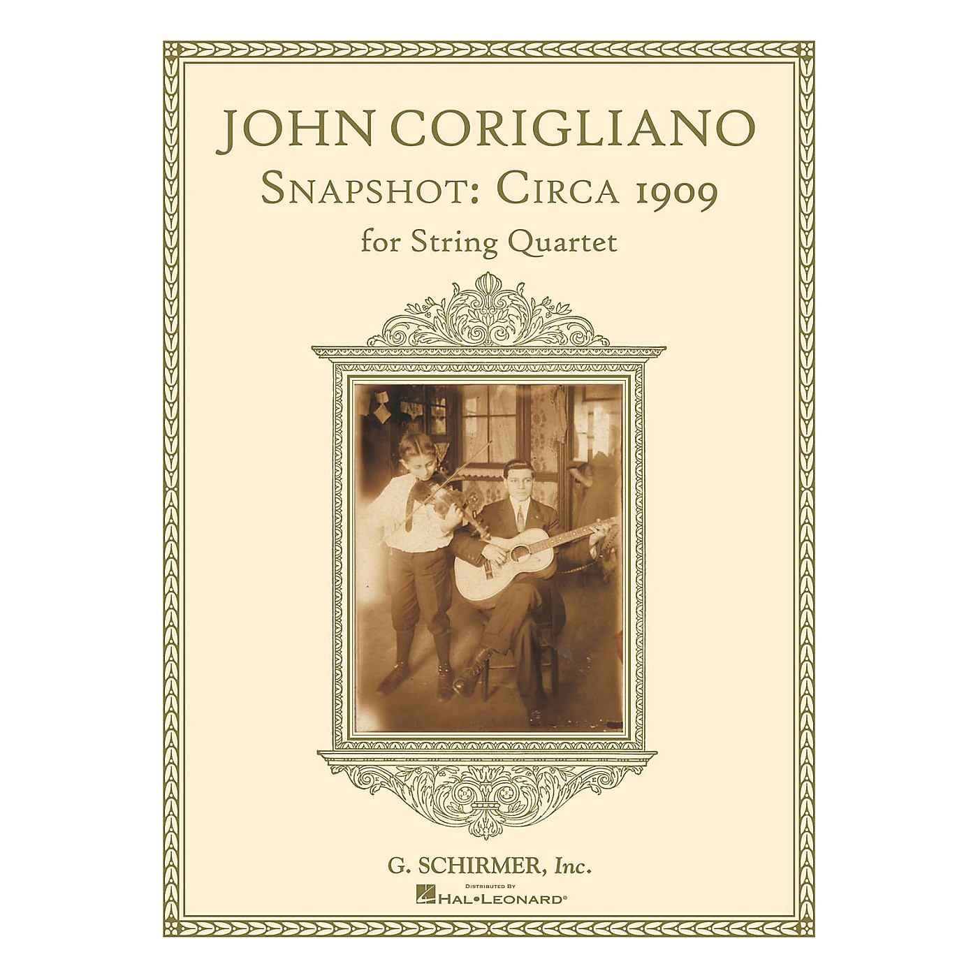 G. Schirmer Snapshot: Circa 1909 (String Quartet Score and Parts) String Series Softcover Composed by John Corigliano thumbnail