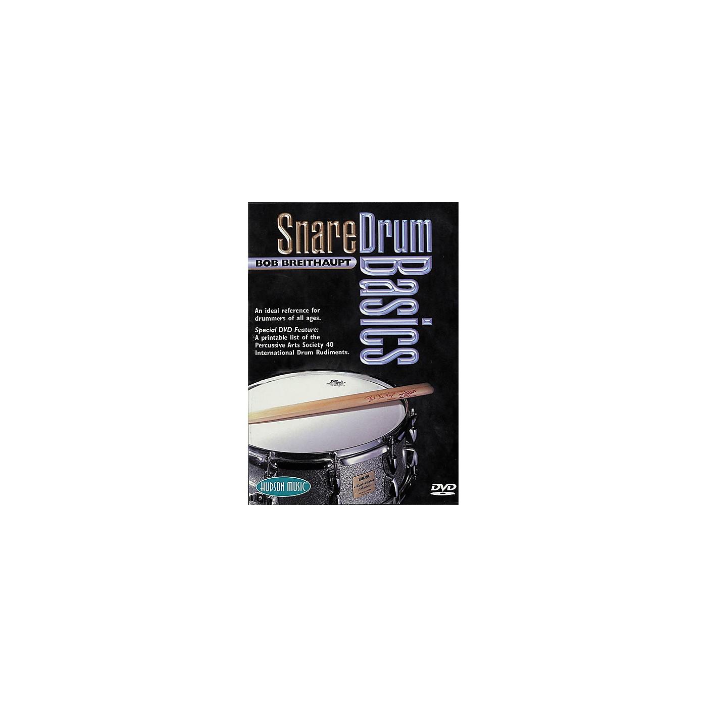 Hudson Music Snare Drum Basics (DVD) thumbnail