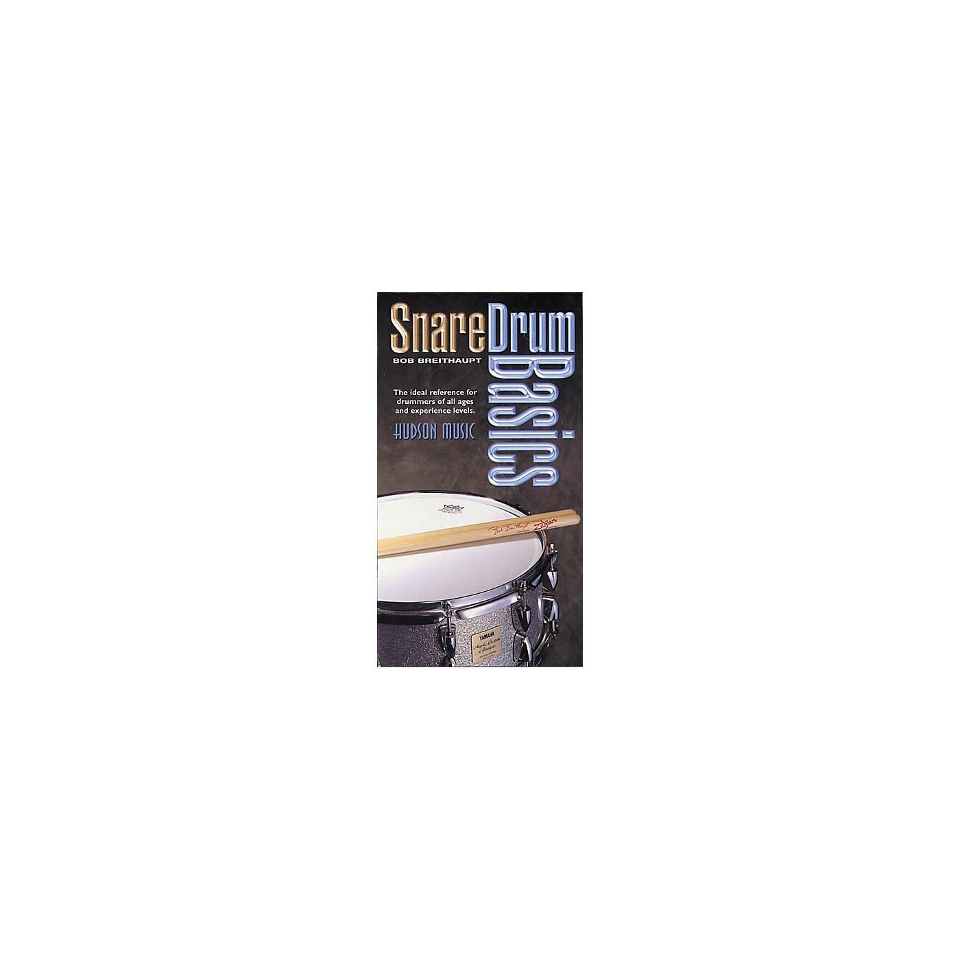 Hudson Music Snare Drum Basics (VHS) thumbnail